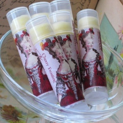 Cherry Frosting Lip Balm by Vintage Bella