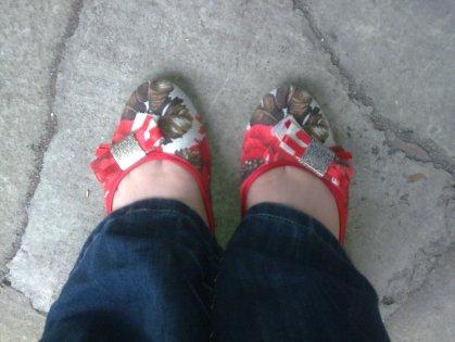Summer Garden Shoes