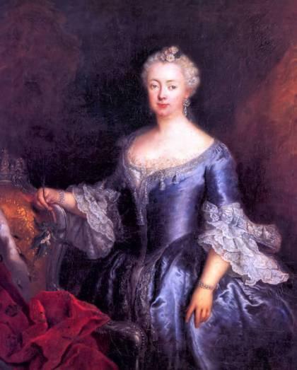 Queen Elizabeth Christine of Prussia - Antoine Pesne