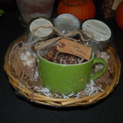 Winter Warmth Gift Basket by JM Creative, $30