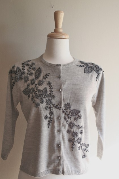 vintage BLACK ROSE sweater